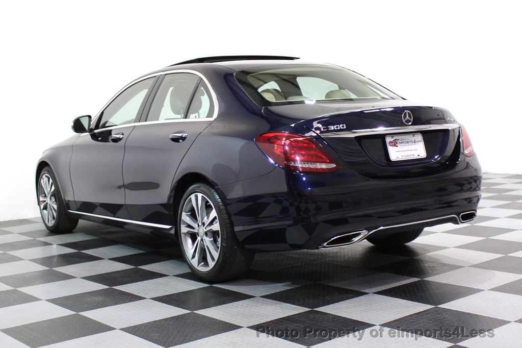 2015 Mercedes-Benz C-Class CERTIFIED C300 4Matic AWD Blind Spot LED PANO CAM NAVI - 17490665 - 52