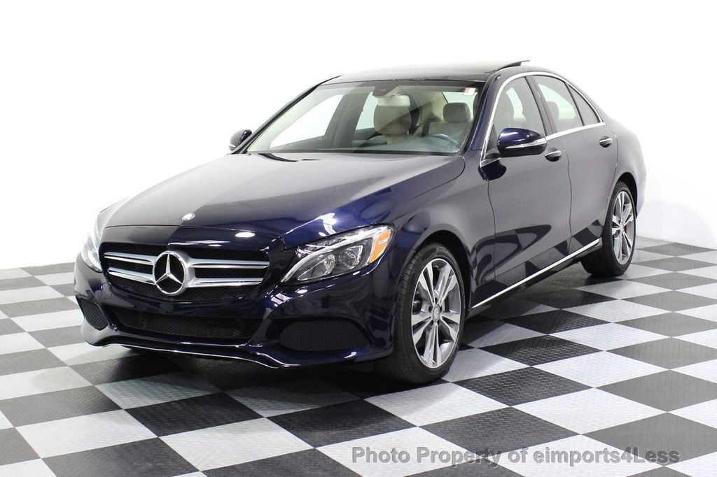 2015 Mercedes-Benz C-Class CERTIFIED C300 4Matic AWD Blind Spot LED PANO CAM NAVI - 17490665 - 53