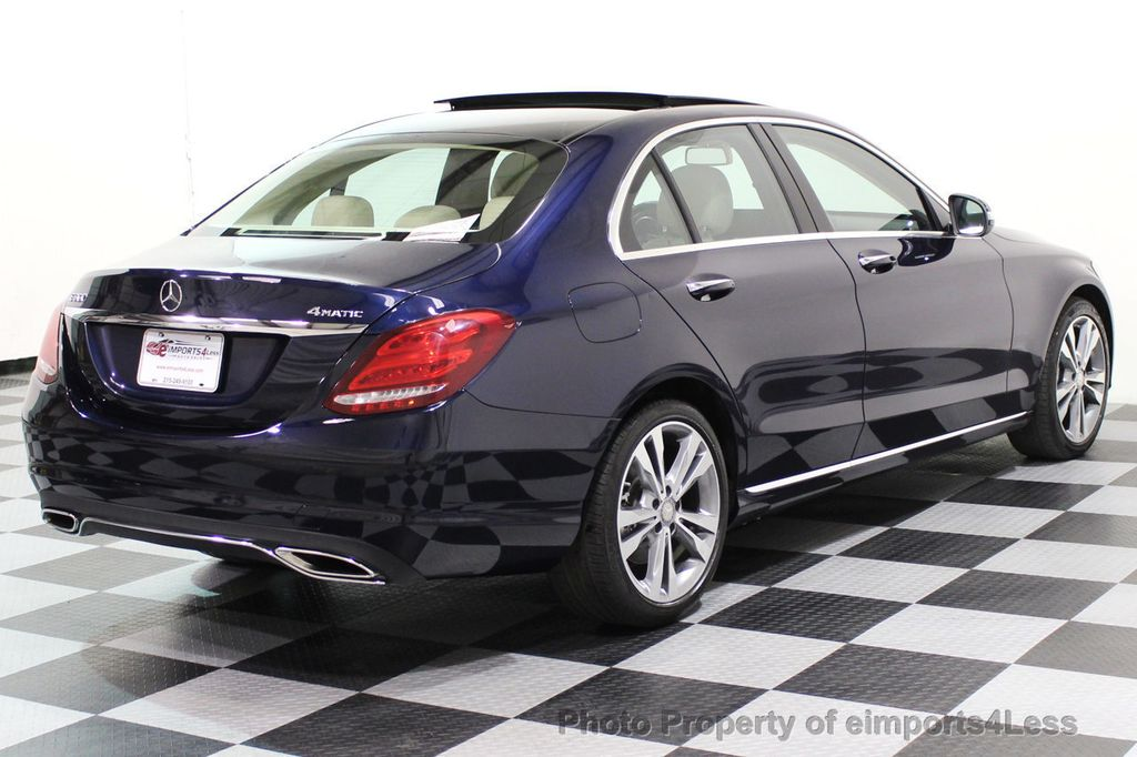 2015 Mercedes-Benz C-Class CERTIFIED C300 4Matic AWD Blind Spot LED PANO CAM NAVI - 17490665 - 54