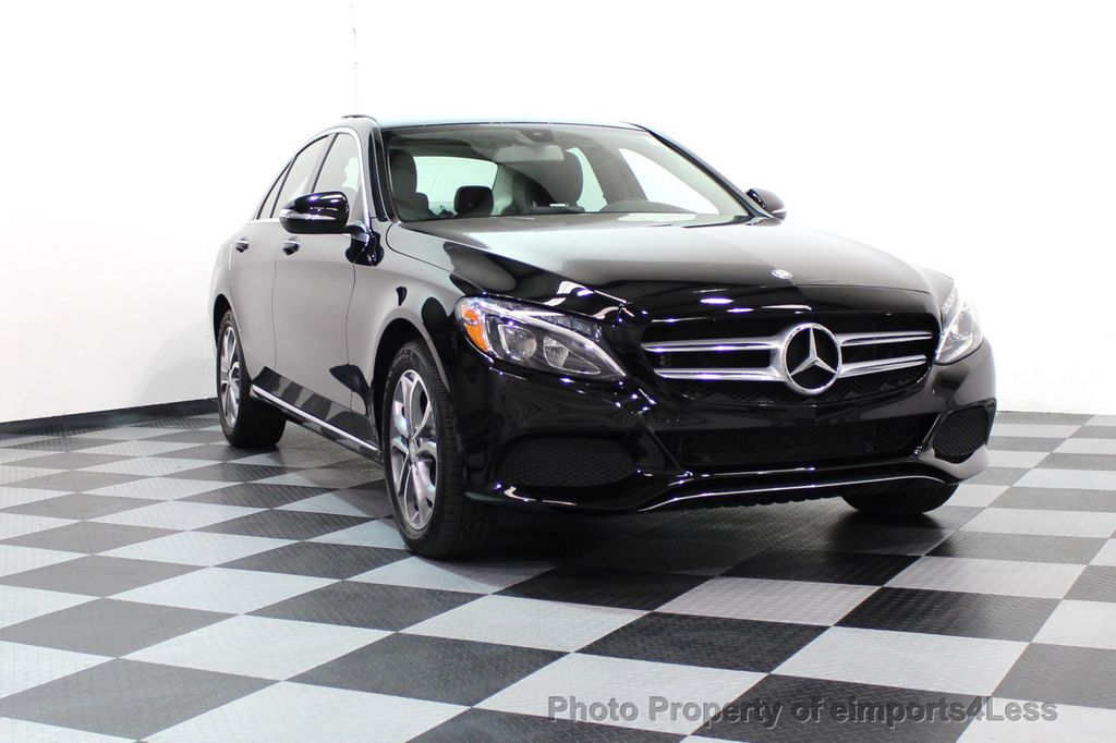 2015 Mercedes-Benz C-Class CERTIFIED C300 4Matic AWD Blind Spot PANO LED NAVI - 17537735 - 14