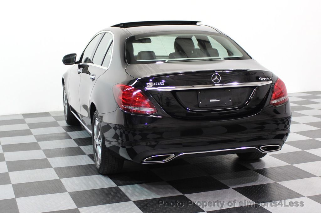 2015 Mercedes-Benz C-Class CERTIFIED C300 4Matic AWD Blind Spot PANO LED NAVI - 17537735 - 15