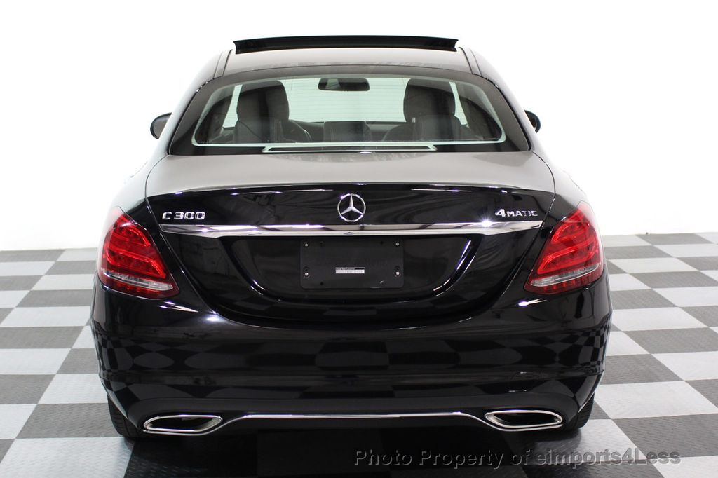 2015 Mercedes-Benz C-Class CERTIFIED C300 4Matic AWD Blind Spot PANO LED NAVI - 17537735 - 16