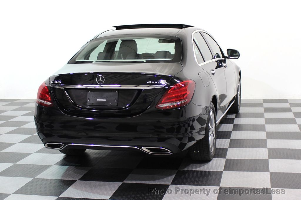 2015 Mercedes-Benz C-Class CERTIFIED C300 4Matic AWD Blind Spot PANO LED NAVI - 17537735 - 17
