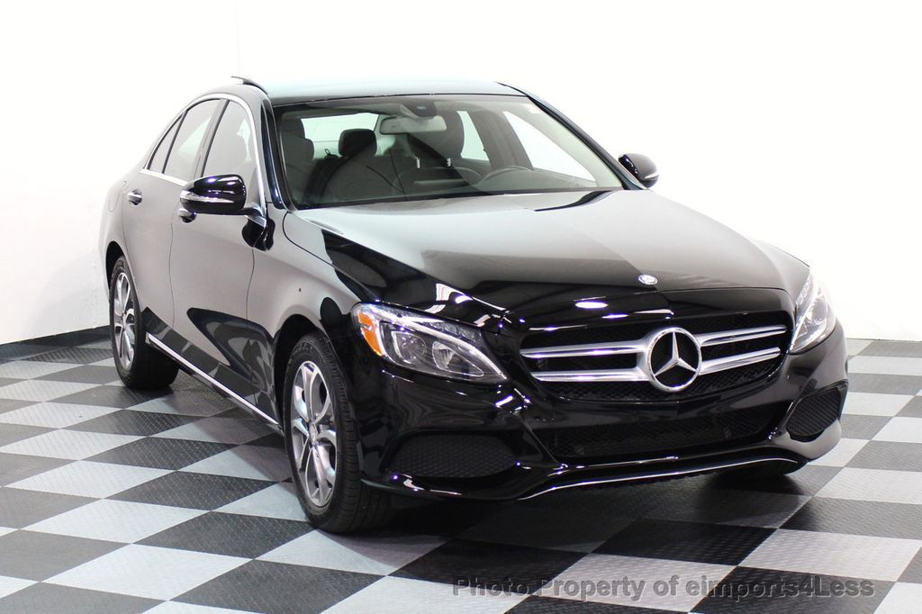 2015 Mercedes-Benz C-Class CERTIFIED C300 4Matic AWD Blind Spot PANO LED NAVI - 17537735 - 1