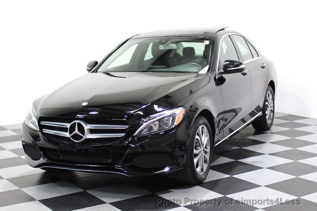 2015 Mercedes-Benz C-Class CERTIFIED C300 4Matic AWD Blind Spot PANO LED NAVI - 17537735 - 26