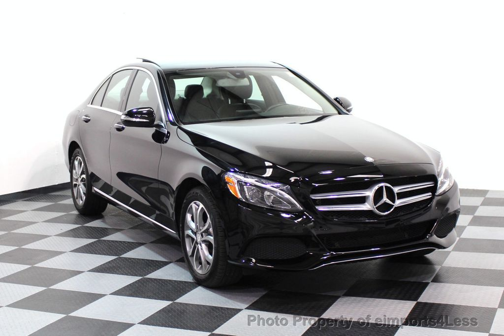 2015 Mercedes-Benz C-Class CERTIFIED C300 4Matic AWD Blind Spot PANO LED NAVI - 17537735 - 27