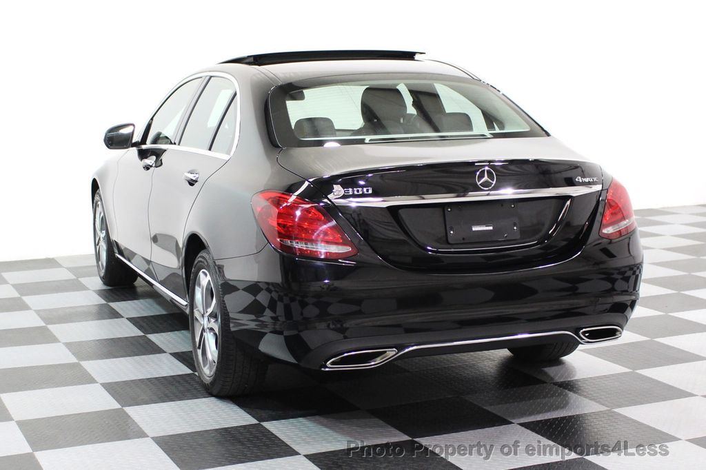 2015 Mercedes-Benz C-Class CERTIFIED C300 4Matic AWD Blind Spot PANO LED NAVI - 17537735 - 28
