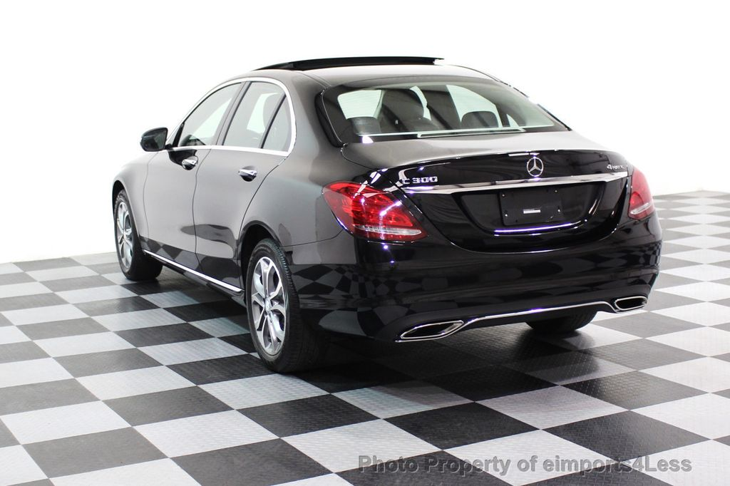 2015 Mercedes-Benz C-Class CERTIFIED C300 4Matic AWD Blind Spot PANO LED NAVI - 17537735 - 2