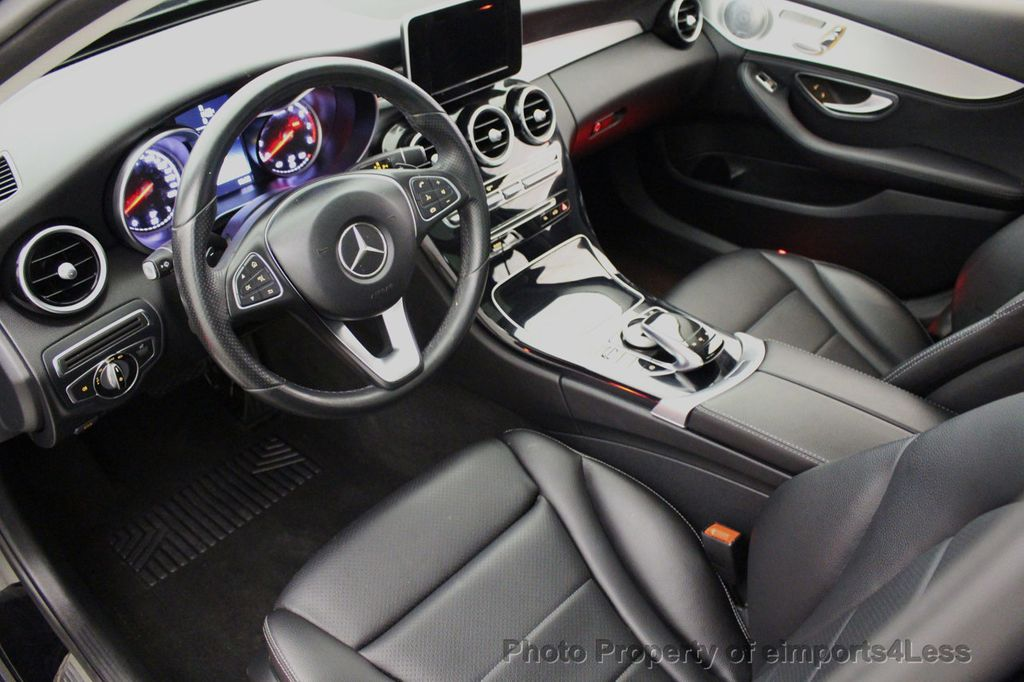 2015 Mercedes-Benz C-Class CERTIFIED C300 4Matic AWD Blind Spot PANO LED NAVI - 17537735 - 31