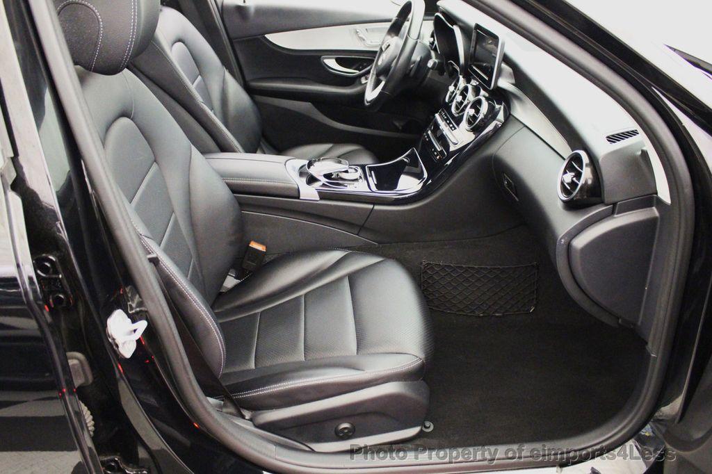 2015 Mercedes-Benz C-Class CERTIFIED C300 4Matic AWD Blind Spot PANO LED NAVI - 17537735 - 32