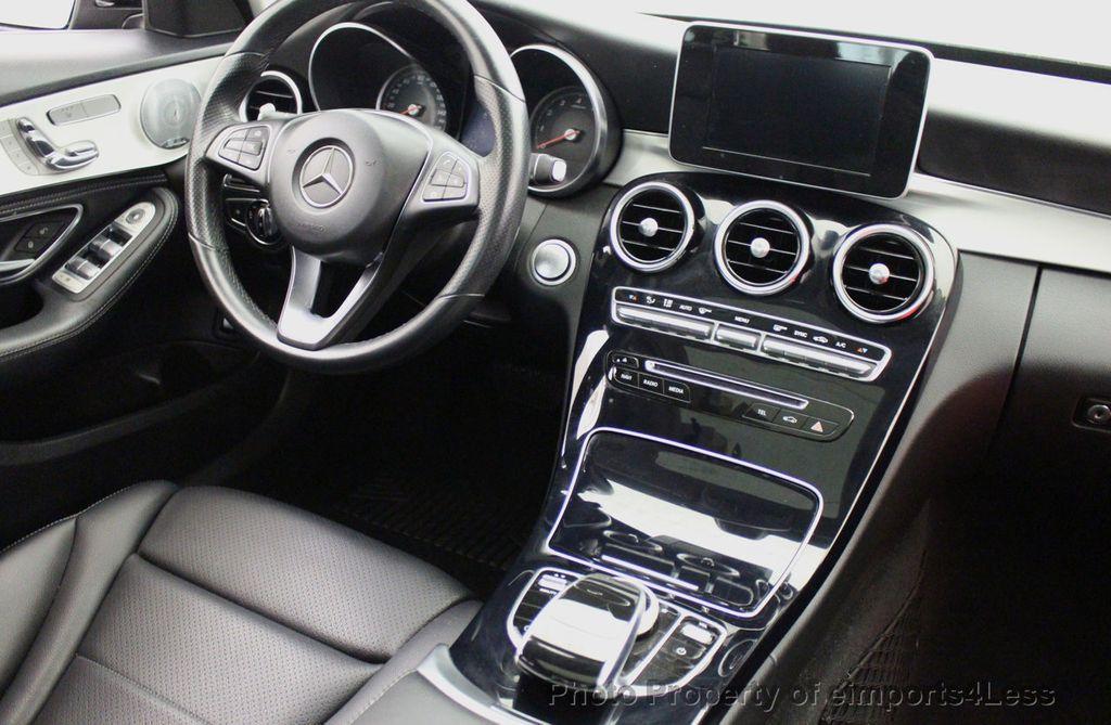 2015 Mercedes-Benz C-Class CERTIFIED C300 4Matic AWD Blind Spot PANO LED NAVI - 17537735 - 36