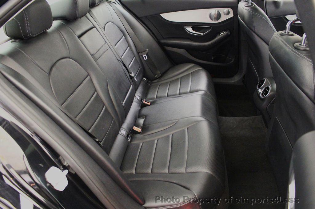 2015 Mercedes-Benz C-Class CERTIFIED C300 4Matic AWD Blind Spot PANO LED NAVI - 17537735 - 37