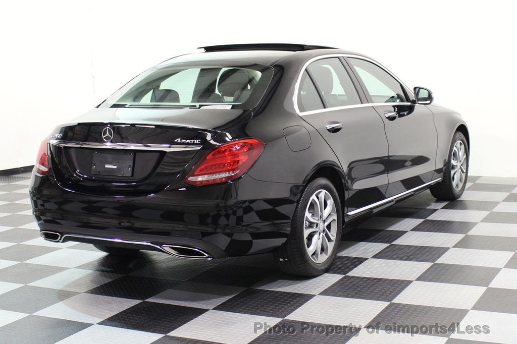2015 Mercedes-Benz C-Class CERTIFIED C300 4Matic AWD Blind Spot PANO LED NAVI - 17537735 - 3