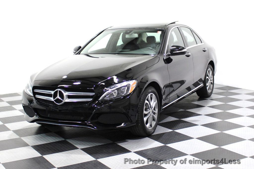 2015 Mercedes-Benz C-Class CERTIFIED C300 4Matic AWD Blind Spot PANO LED NAVI - 17537735 - 42