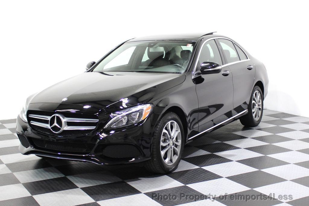 2015 Mercedes-Benz C-Class CERTIFIED C300 4Matic AWD Blind Spot PANO LED NAVI - 17537735 - 43