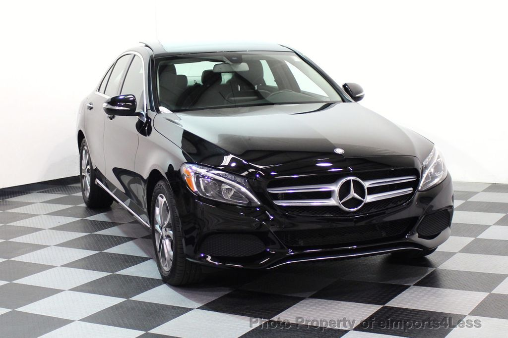 2015 Mercedes-Benz C-Class CERTIFIED C300 4Matic AWD Blind Spot PANO LED NAVI - 17537735 - 44