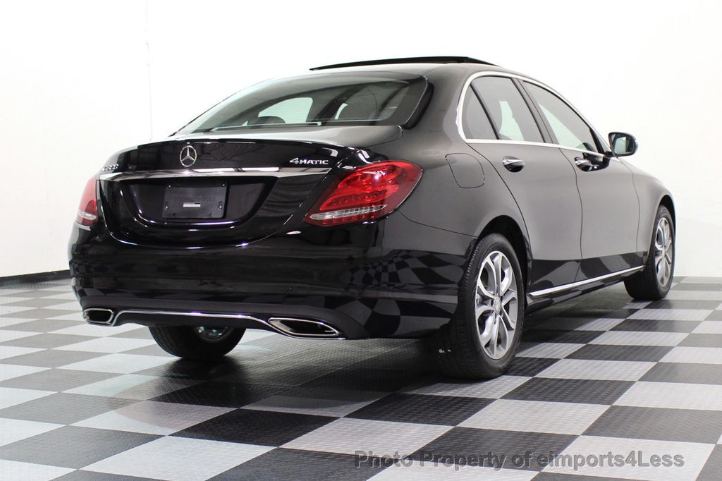 2015 Mercedes-Benz C-Class CERTIFIED C300 4Matic AWD Blind Spot PANO LED NAVI - 17537735 - 46