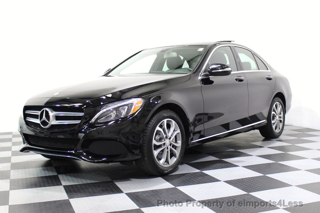 2015 Mercedes-Benz C-Class CERTIFIED C300 4Matic AWD Blind Spot PANO LED NAVI - 17537735 - 47