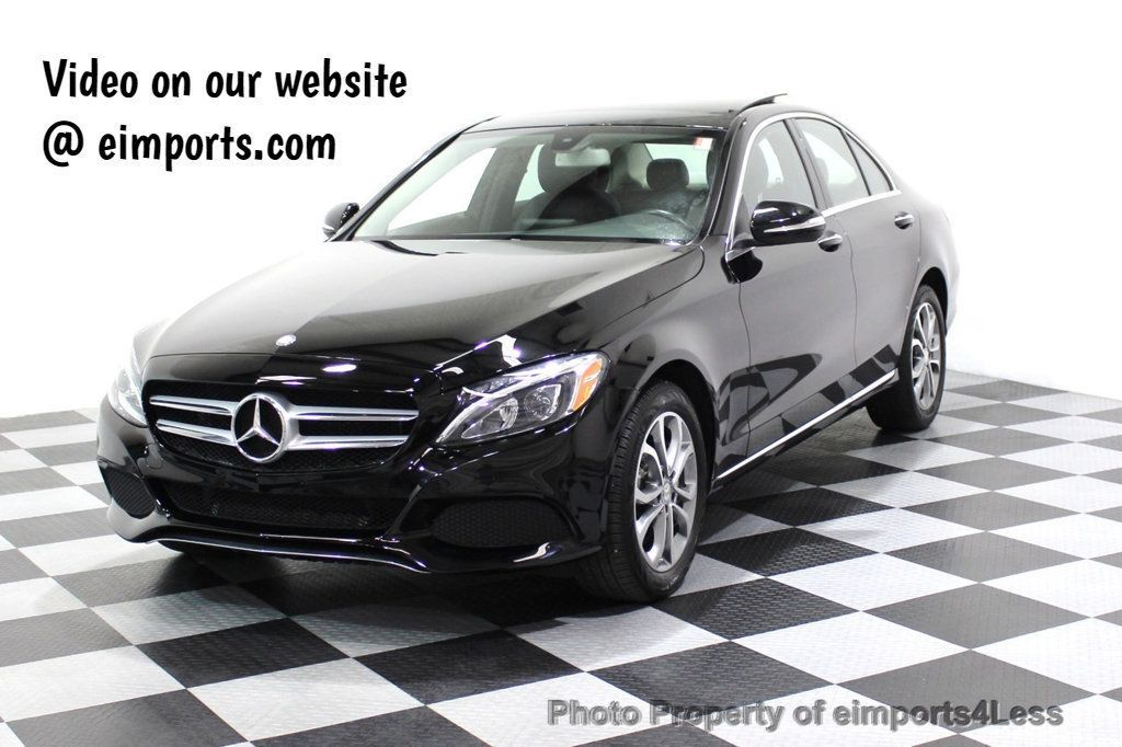 2015 Mercedes-Benz C-Class CERTIFIED C300 4Matic AWD Blind Spot PANO LED NAVI - 17537735 - 48