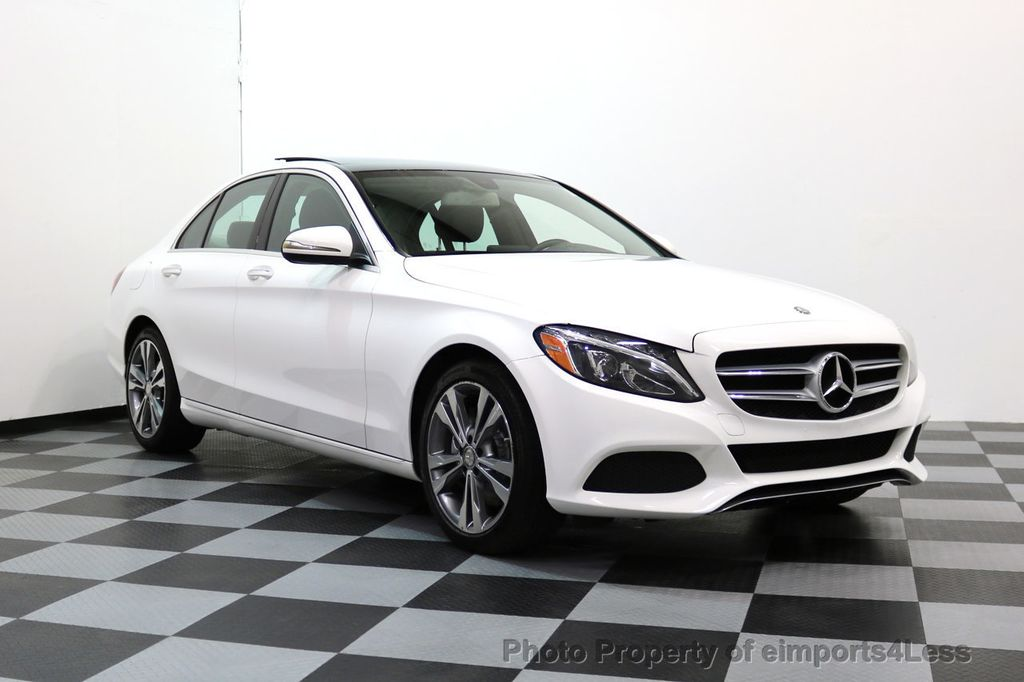 2015 Mercedes-Benz C-Class CERTIFIED C300 4Matic AWD CAMERA PANO NAVI - 17484517 - 14