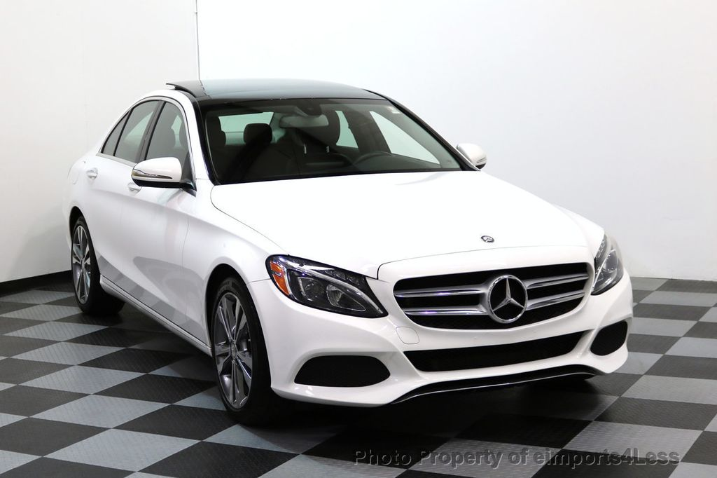 2015 Mercedes-Benz C-Class CERTIFIED C300 4Matic AWD CAMERA PANO NAVI - 17484517 - 1
