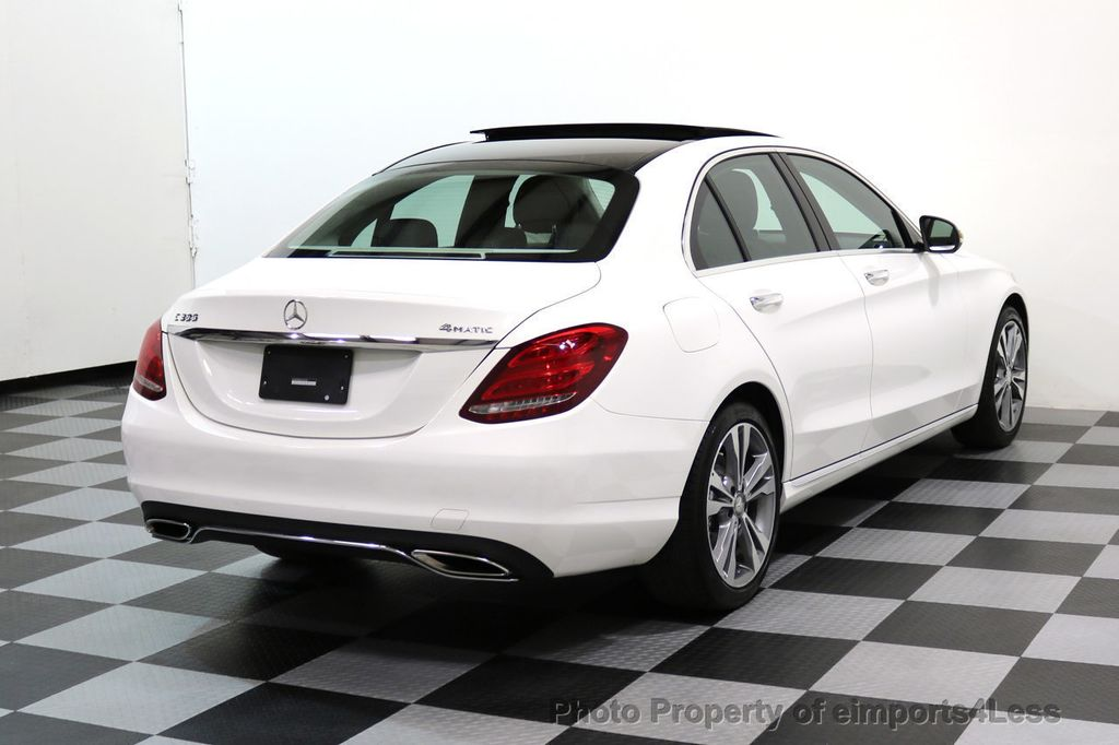 2015 Mercedes-Benz C-Class CERTIFIED C300 4Matic AWD CAMERA PANO NAVI - 17484517 - 3