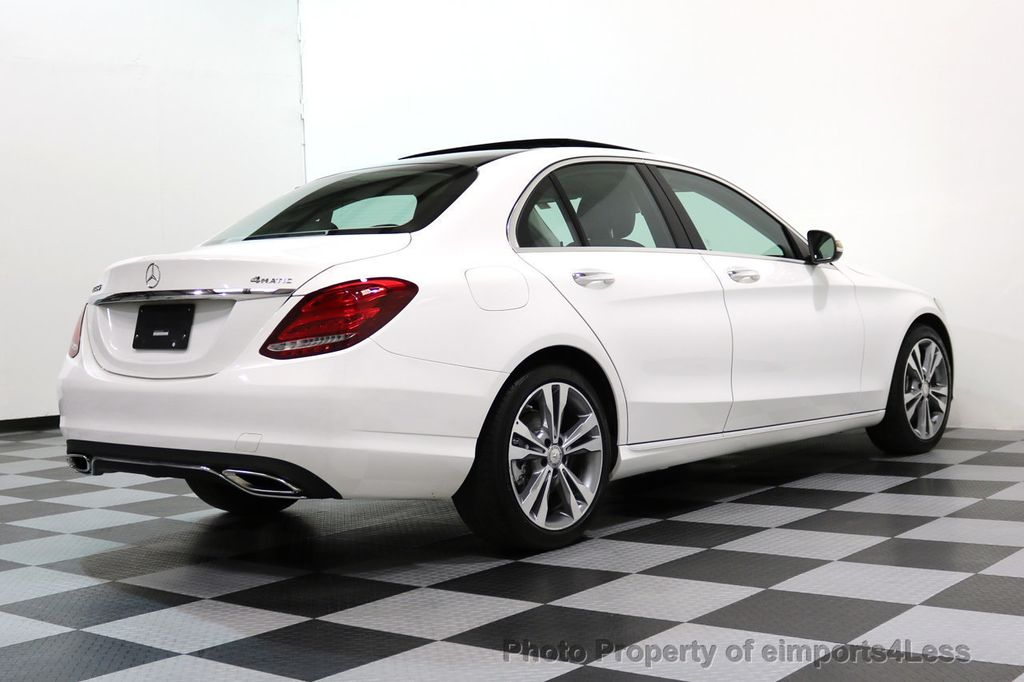2015 Mercedes-Benz C-Class CERTIFIED C300 4Matic AWD CAMERA PANO NAVI - 17484517 - 47