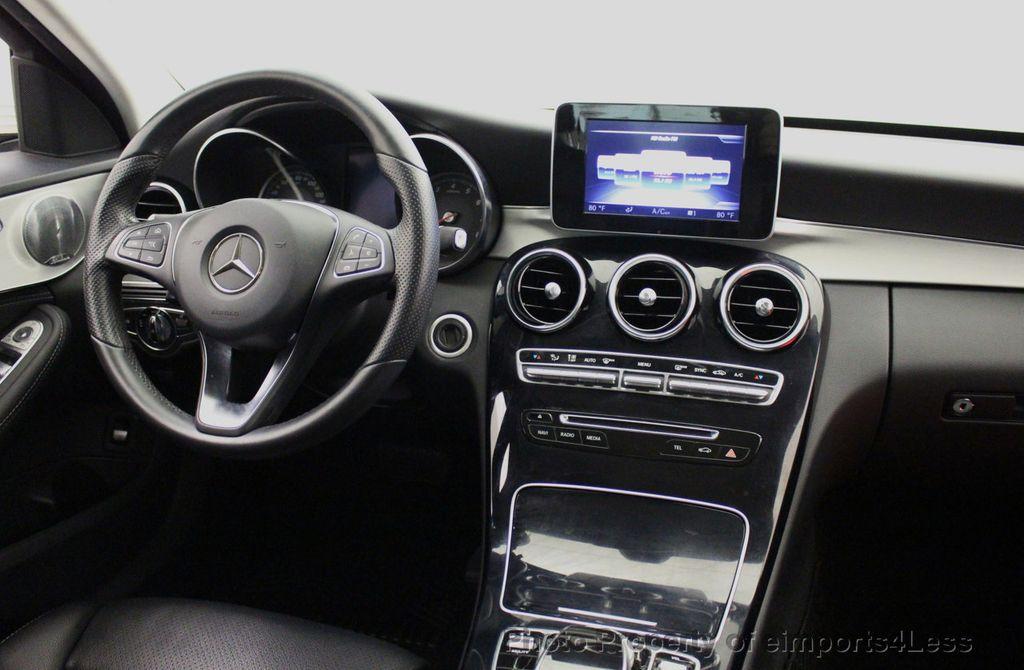 2015 Mercedes-Benz C-Class CERTIFIED C300 4Matic AWD CAMERA PANO NAVIGATION - 17484517 - 34