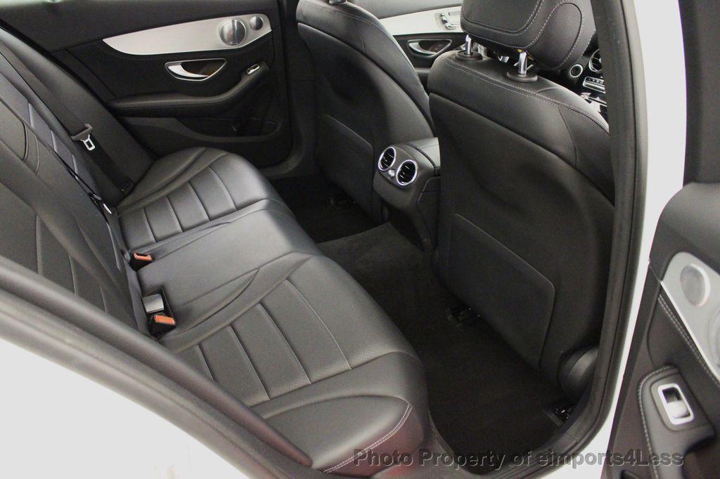 2015 Mercedes-Benz C-Class CERTIFIED C300 4Matic AWD CAMERA PANO NAVIGATION - 17484517 - 37