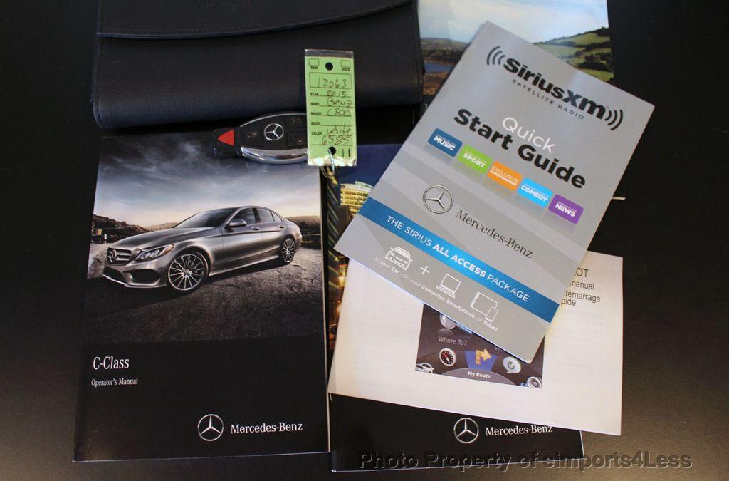 2015 Mercedes-Benz C-Class CERTIFIED C300 4Matic AWD CAMERA PANO NAVIGATION - 17484517 - 38