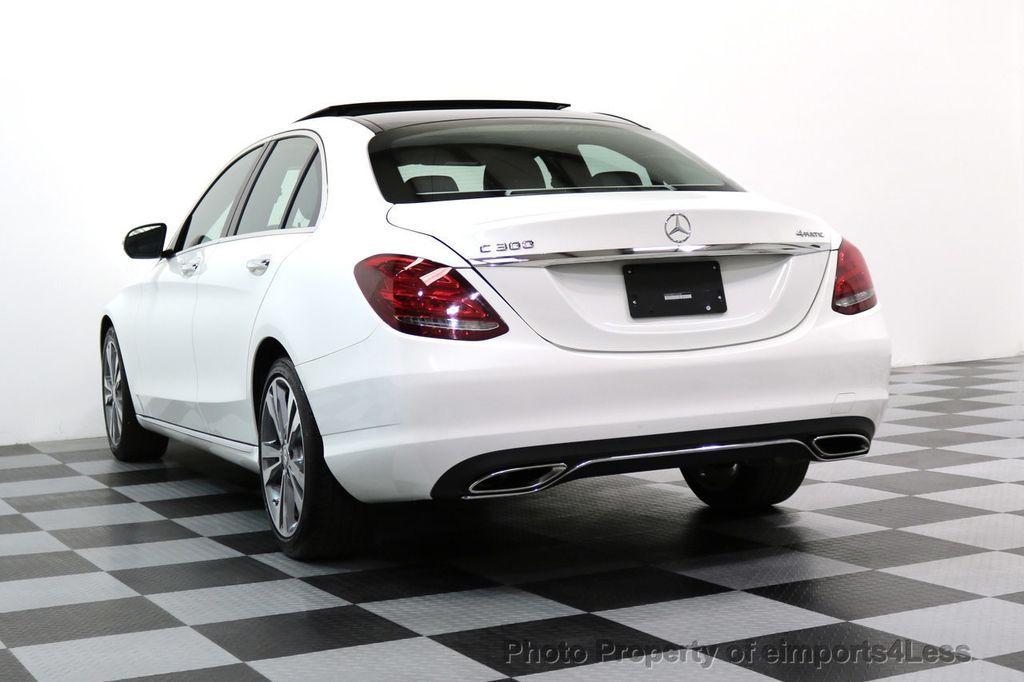 2015 Mercedes-Benz C-Class CERTIFIED C300 4Matic AWD CAMERA PANO NAVIGATION - 17484517 - 46