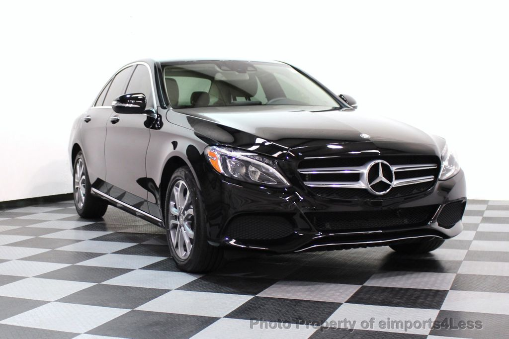 2015 Mercedes-Benz C-Class CERTIFIED C300 4Matic AWD Cooled Seats CAMERA NAVI - 17526336 - 30