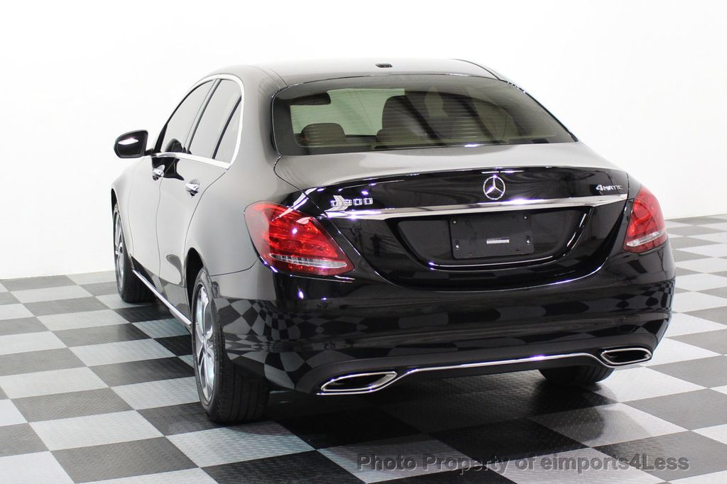 2015 Mercedes-Benz C-Class CERTIFIED C300 4Matic AWD Cooled Seats CAMERA NAVI - 17526336 - 31