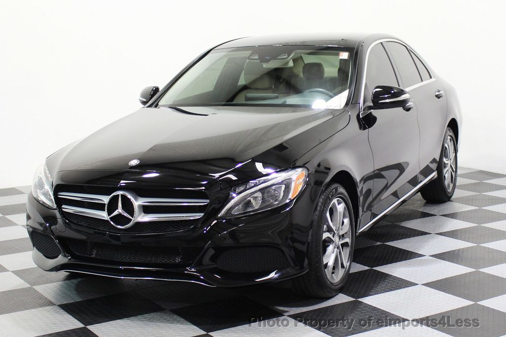 2015 Mercedes-Benz C-Class CERTIFIED C300 4Matic AWD Cooled Seats CAMERA NAVI - 17526336 - 45
