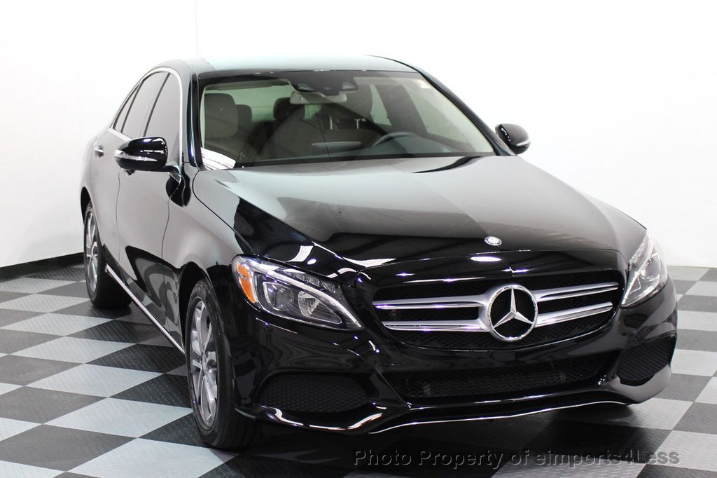 2015 Mercedes-Benz C-Class CERTIFIED C300 4Matic AWD Cooled Seats CAMERA NAVI - 17526336 - 46
