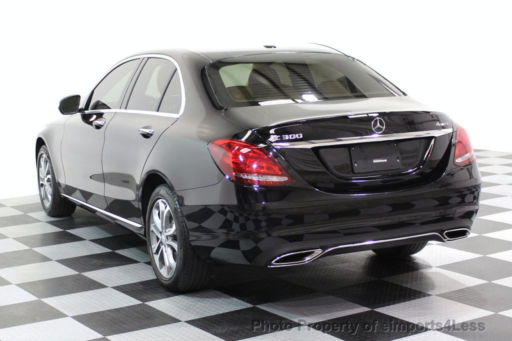 2015 Mercedes-Benz C-Class CERTIFIED C300 4Matic AWD Cooled Seats CAMERA NAVI - 17526336 - 47