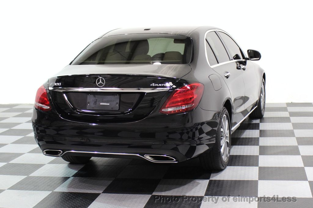 2015 Mercedes-Benz C-Class CERTIFIED C300 4Matic AWD Cooled Seats CAMERA NAVI - 17526336 - 48