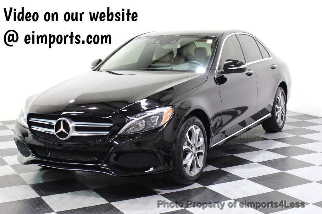 2015 Mercedes-Benz C-Class CERTIFIED C300 4Matic AWD Cooled Seats CAMERA NAVI - 17526336 - 49