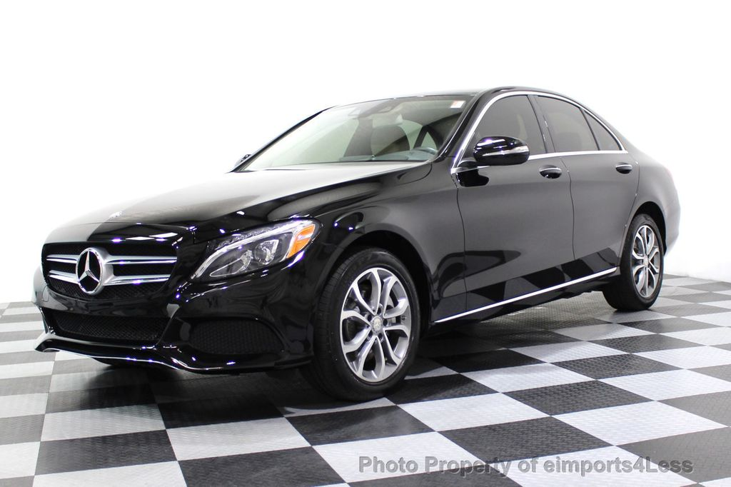 2015 Mercedes-Benz C-Class CERTIFIED C300 4Matic AWD Cooled Seats HUD CAMERA NAVI - 17526336 - 14