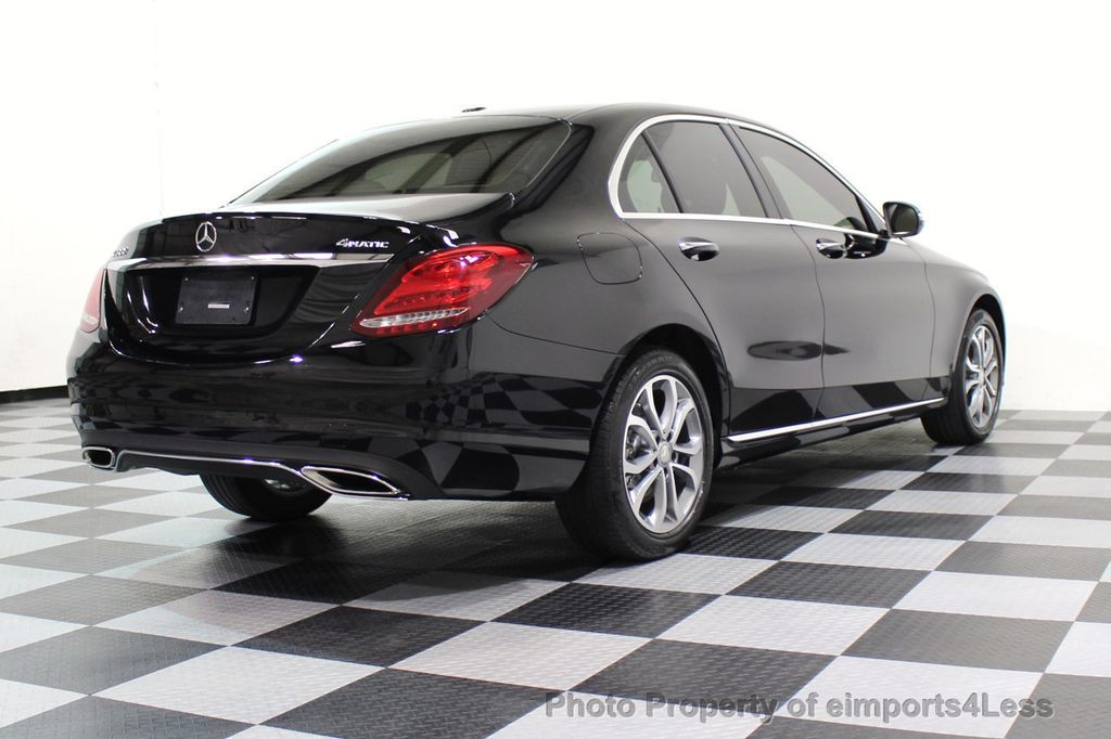 2015 Mercedes-Benz C-Class CERTIFIED C300 4Matic AWD Cooled Seats HUD CAMERA NAVI - 17526336 - 18