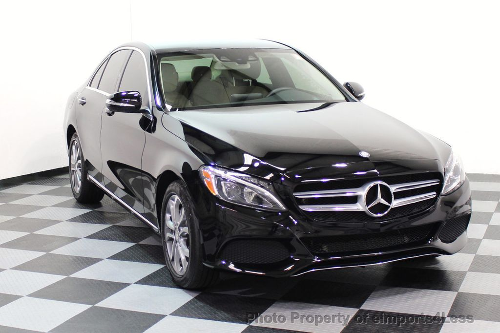 2015 Mercedes-Benz C-Class CERTIFIED C300 4Matic AWD Cooled Seats HUD CAMERA NAVI - 17526336 - 1