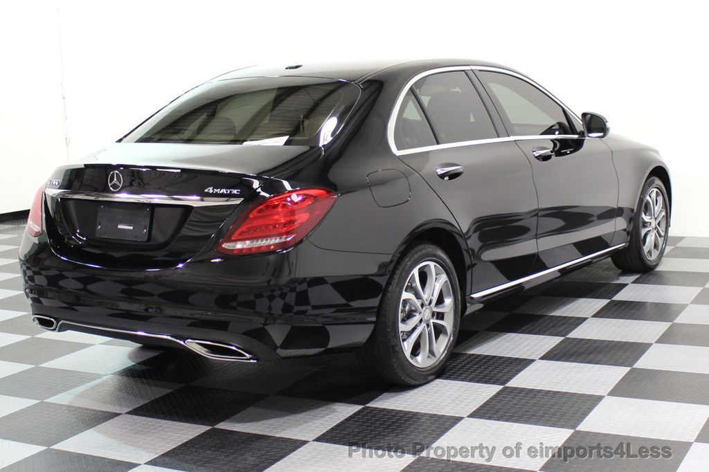 2015 Mercedes-Benz C-Class CERTIFIED C300 4Matic AWD Cooled Seats HUD CAMERA NAVI - 17526336 - 33