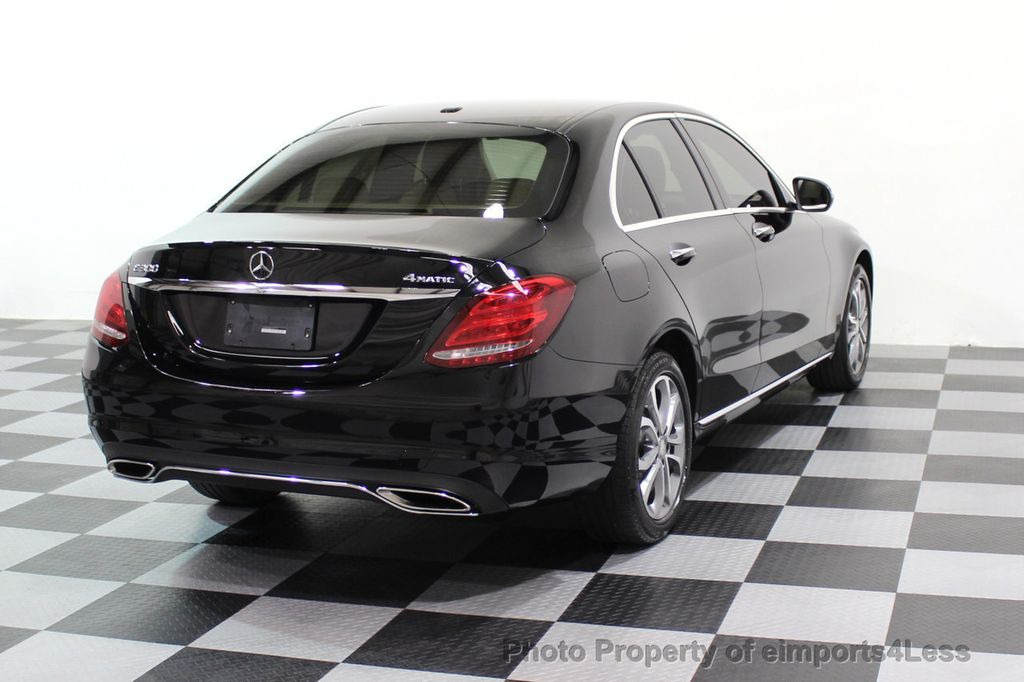 2015 Mercedes-Benz C-Class CERTIFIED C300 4Matic AWD Cooled Seats HUD CAMERA NAVI - 17526336 - 3