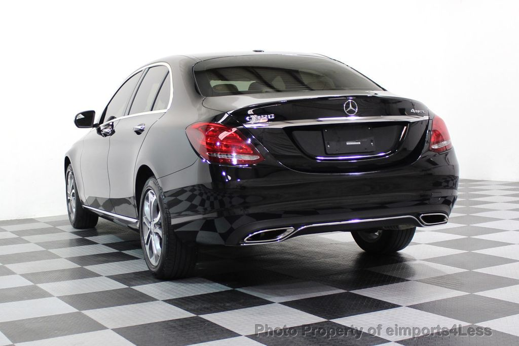 2015 Mercedes-Benz C-Class CERTIFIED C300 4Matic AWD Cooled Seats HUD CAMERA NAVI - 17526336 - 53