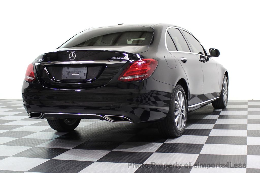 2015 Mercedes-Benz C-Class CERTIFIED C300 4Matic AWD Cooled Seats HUD CAMERA NAVI - 17526336 - 54