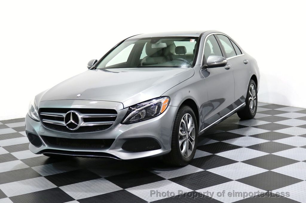2015 Mercedes-Benz C-Class CERTIFIED C300 4Matic AWD LED LIGHTS CAMERA NAVI - 17057498 - 0