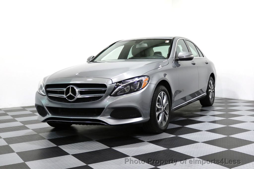 2015 Mercedes-Benz C-Class CERTIFIED C300 4Matic AWD LED LIGHTS CAMERA NAVI - 17057498 - 12