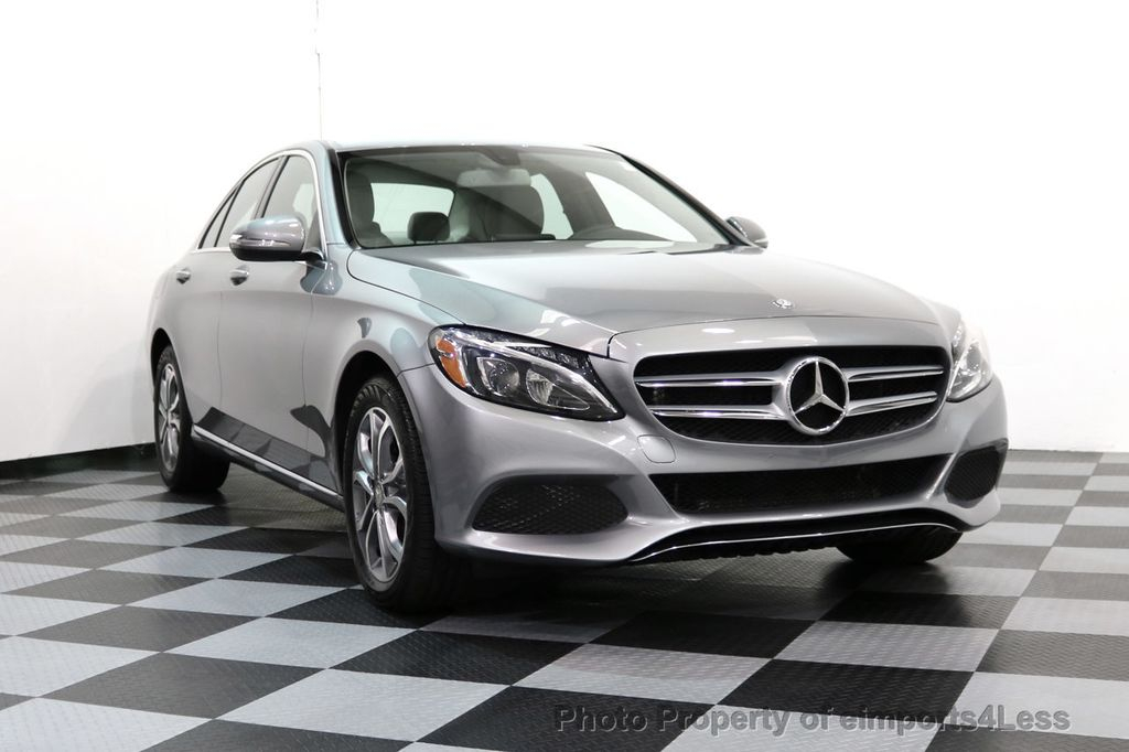 2015 Mercedes-Benz C-Class CERTIFIED C300 4Matic AWD LED LIGHTS CAMERA NAVI - 17057498 - 13
