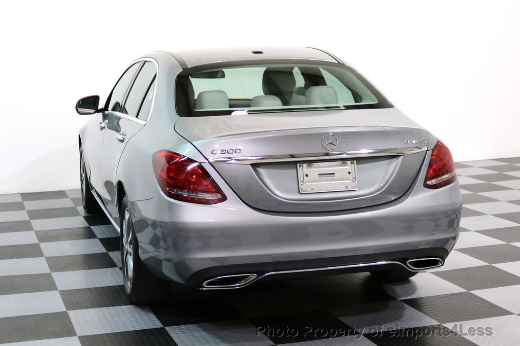 2015 Mercedes-Benz C-Class CERTIFIED C300 4Matic AWD LED LIGHTS CAMERA NAVI - 17057498 - 14