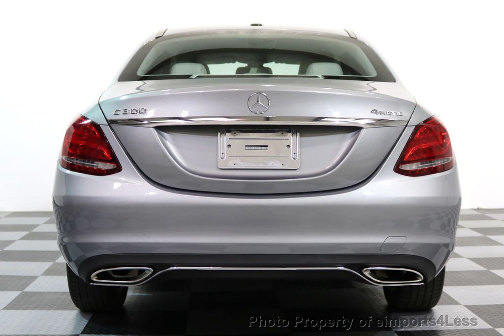 2015 Mercedes-Benz C-Class CERTIFIED C300 4Matic AWD LED LIGHTS CAMERA NAVI - 17057498 - 15